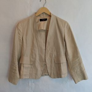 Maxmara Weekend linen blazer size  8 in EUC